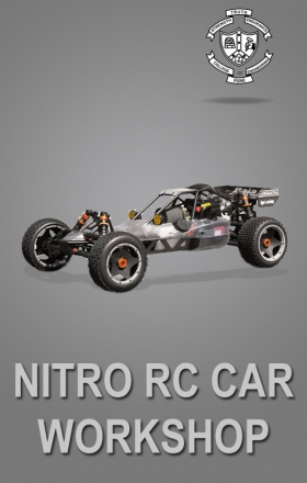 Nitro RC Car Workshop organised by EduRade at College of Engineering, Pune