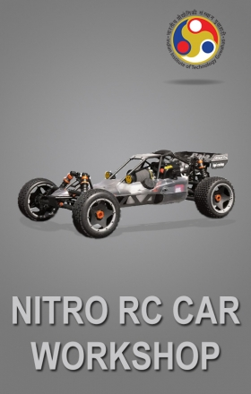 Nitro RC Car Workshop organised by EduRade at IIT Guwahati