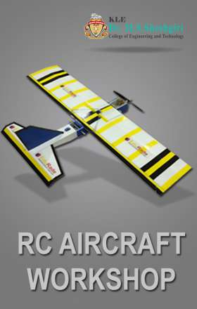 RC Aircraft aeromodelling workshop organised by EduRade at DR.M S Sheshgiri College of Engineering and Technology, Belgaum
