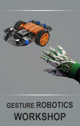 Gesture Controlled Robotics Workshop by Edurade
